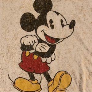 Disney Tops - DISNEY MICKEY MOUSE sleeveless crop top